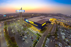 Vue d'Arial d'IKEA THAIALND Image stock