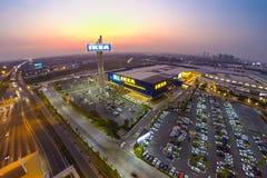 Vue d'Arial d'IKEA THAIALND Photos libres de droits