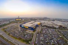 Vue d'Arial d'IKEA THAIALND Image libre de droits