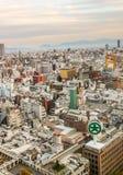 Vue d'Ariel d'Osaka pendant la journée photo libre de droits