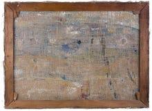 Vue d'arrière de toile d'huile photos libres de droits