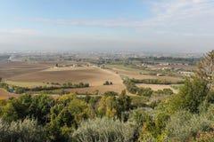 Vue d'Assisi photographie stock libre de droits