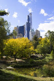 Vue d'Autumn Central Park Manhattan, New York Images libres de droits