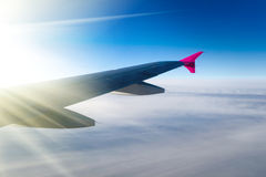 Vue d'avion à réaction Image stock
