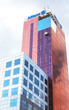Vue d'Edificio Allianz, Barcelone, Espagne Photo stock