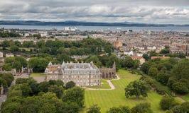 Vue d'Edimbourg de Seat d'Arthur Photo libre de droits