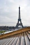 Vue d'Eiffel d'excursion de La Images stock