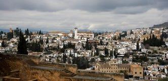 Vue d'EL Albaicín Images libres de droits
