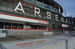 Vue d'Emirates Stadium Photographie stock libre de droits