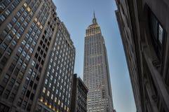 Vue d'Empire State Building image libre de droits