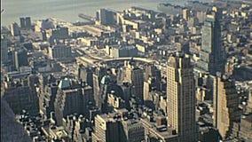 Vue d'Empire State Building clips vidéos