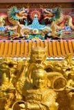 Vue d'ensemble chinoise de temple Image stock