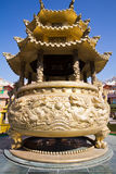 Vue d'ensemble chinoise de temple Images libres de droits