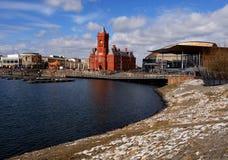 vue d'ensemble de Cardiff de compartiment Photos stock