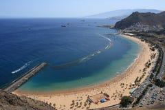Vue d'ensemble de plage Photos libres de droits