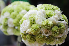 Vue d'ensemble de réception de mariage photos stock