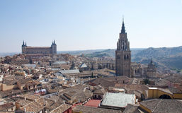 Vue d'ensemble de Toledo Photographie stock