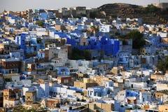 Vue d'ensemble de ville bleue Jodpur Photo stock