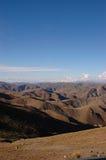 Vue d'ensemble des Andes image stock