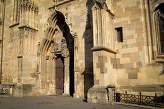 Vue d'entrée de cathédrale image libre de droits