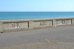 Vue d'esplanade en Angleterre Photographie stock