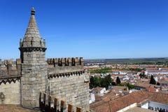 Vue d'Evora Photo libre de droits