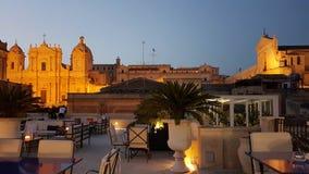 Vue d'hôtel de botique de Gagliardi dans Noto et x28 ; sicily& x29 ; photos libres de droits