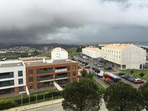 Vue d'hôtel Oeiras Photos libres de droits