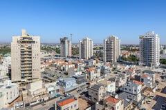 Vue d'horizon de Kiryat Gat Image libre de droits