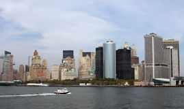 Vue d'horizon de Nyc Image stock