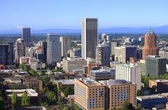 Vue d'horizon de Portland Orégon. images libres de droits