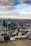Vue d'horizon de ville de Londres Image libre de droits