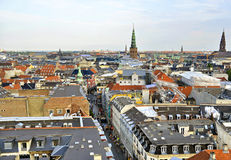 Vue d'horizon du Danemark Copenhague Images stock