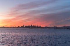 Vue d'horizon est de baie Photos libres de droits