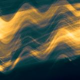 Vue d'horizon Texture teintée multicolore onduleuse Fond d'imagination Les nuages de couleur dispersent Surface lumineuse L'espac illustration de vecteur