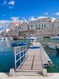 Vue d'horizontal de Giovinazzo. Apulia. Photo libre de droits