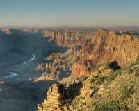 Vue d'horizontal de la gorge grande Image libre de droits