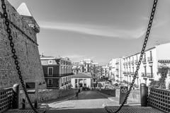 Vue d'Ibiza Photos libres de droits