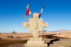 Vue d'Inca Cross, Chili Images stock