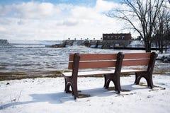 Vue d'inondation Photo libre de droits