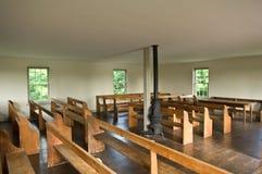 Vue d'intérieur d'église de Dunker Photo libre de droits