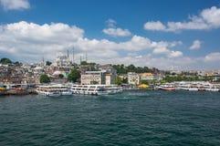 Vue d'Istanbul photo libre de droits