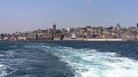 Vue d'Istanbul de la mer Images stock
