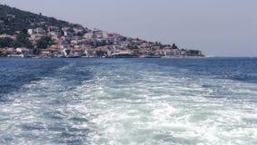Vue d'Istanbul de la mer Image stock