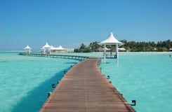 Vue d'île de paradis Photographie stock