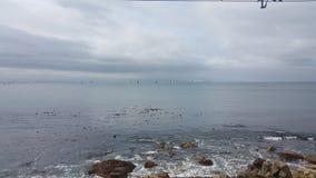 Vue d'océan Image libre de droits