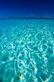 Vue d'océan d'île de paradis photos libres de droits