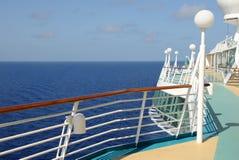 Vue d'océan de bateau image stock