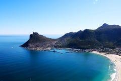 Vue d'océan de Hangberg Photographie stock