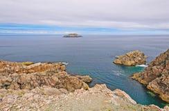 Vue d'océan de la côte atlantique photographie stock libre de droits